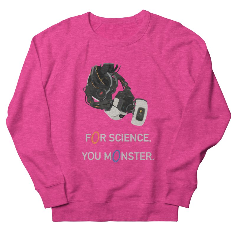 For Science Women's French Terry Sweatshirt by planet64's Artist Shop