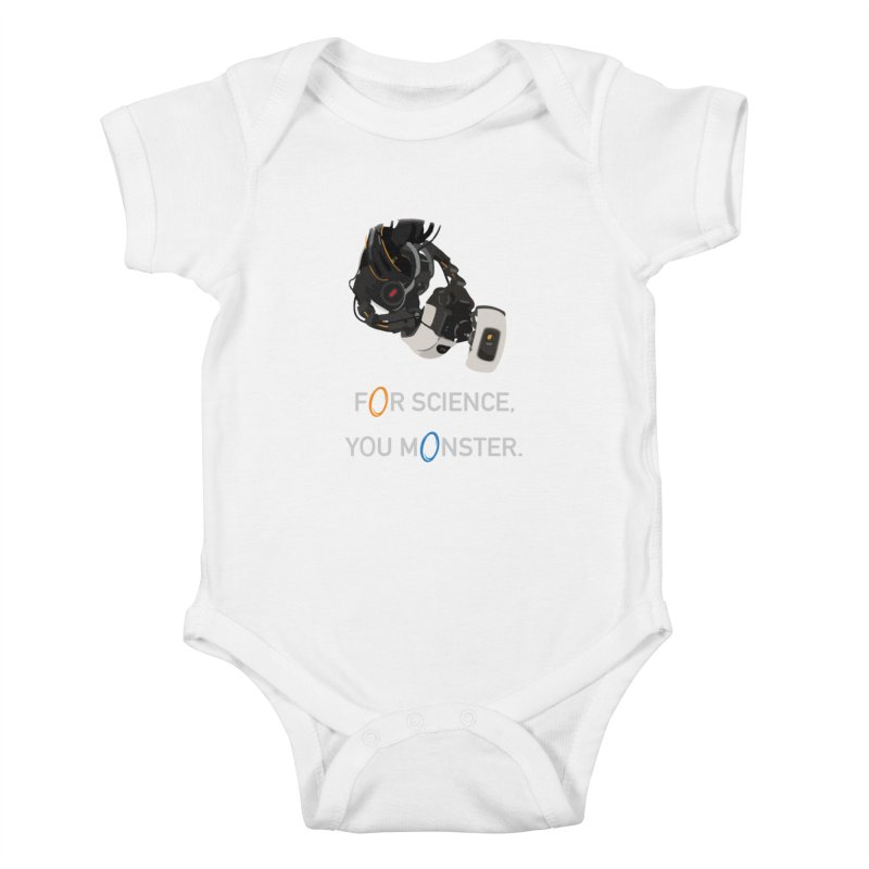 For Science Kids Baby Bodysuit by planet64's Artist Shop