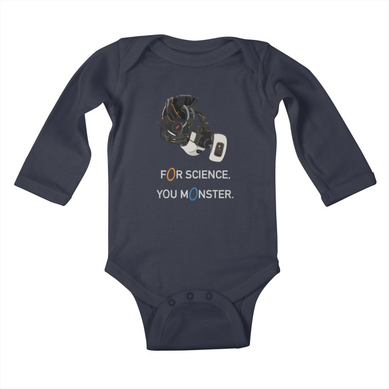 For Science Kids Baby Longsleeve Bodysuit by planet64's Artist Shop