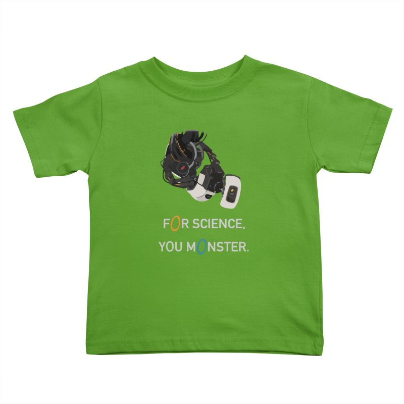 For Science Kids Toddler T-Shirt by planet64's Artist Shop