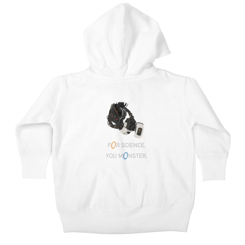 For Science Kids Baby Zip-Up Hoody by planet64's Artist Shop