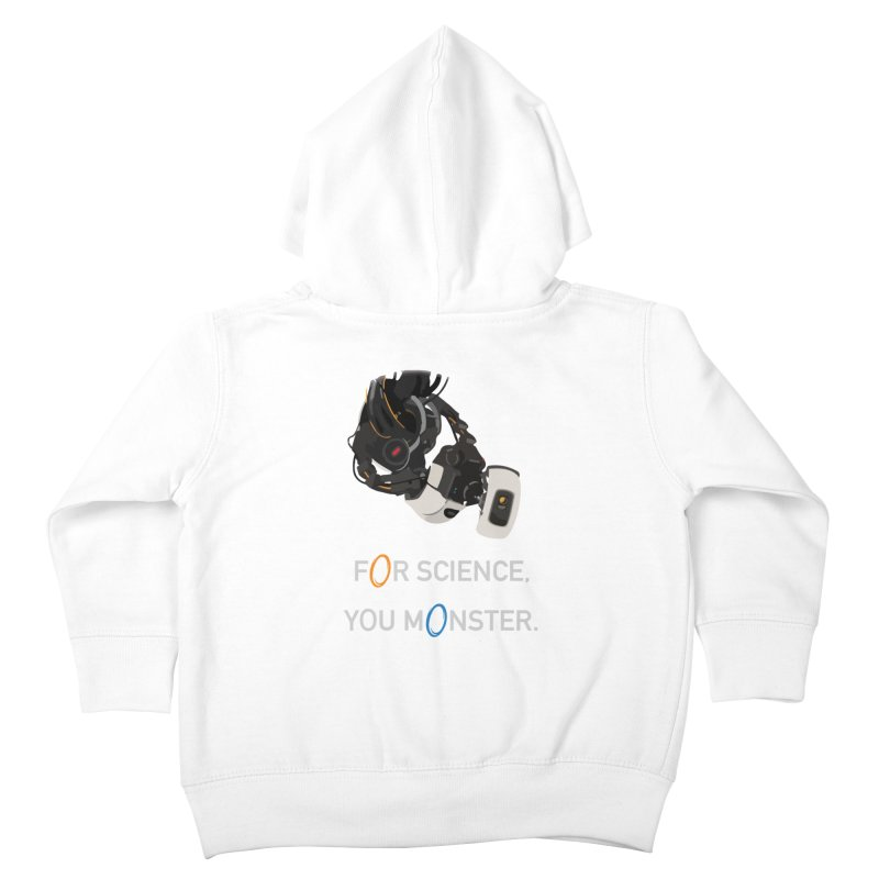 For Science Kids Toddler Zip-Up Hoody by planet64's Artist Shop