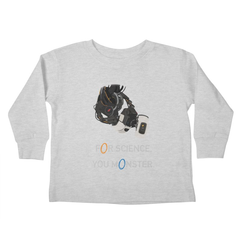 For Science Kids Toddler Longsleeve T-Shirt by planet64's Artist Shop