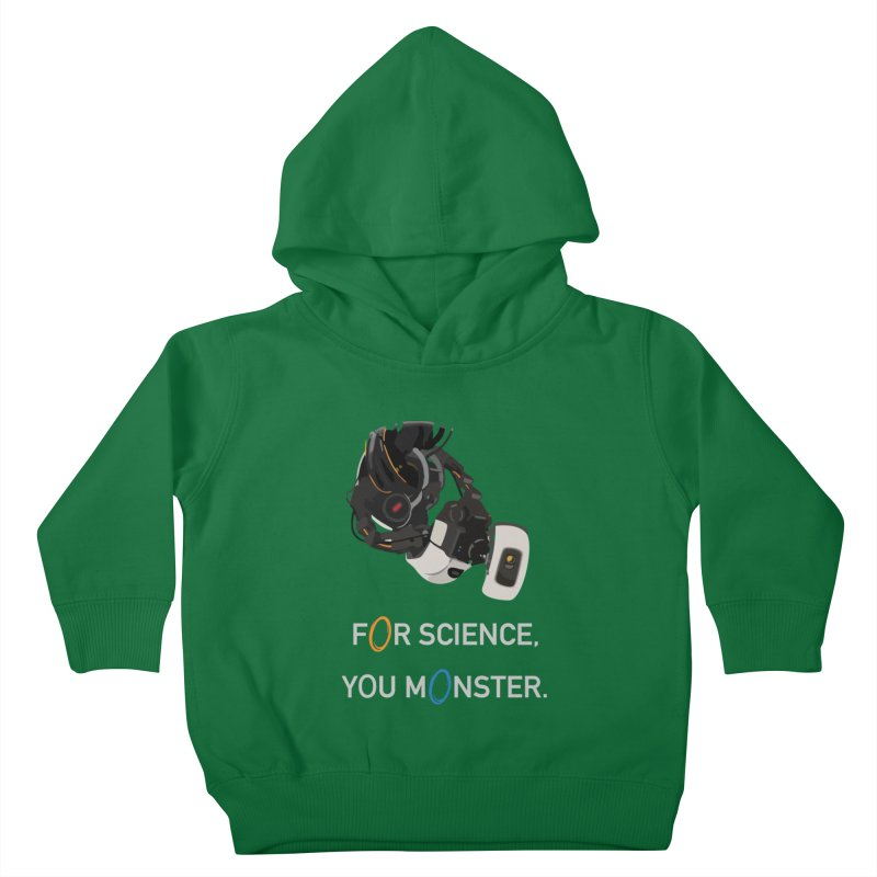 For Science Kids Toddler Pullover Hoody by planet64's Artist Shop