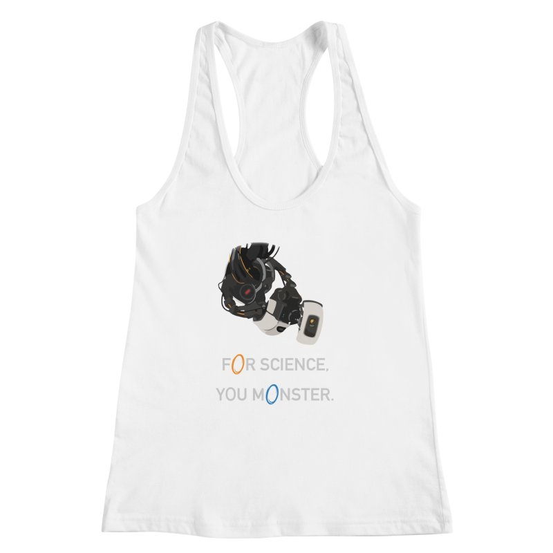 For Science Women's Racerback Tank by planet64's Artist Shop