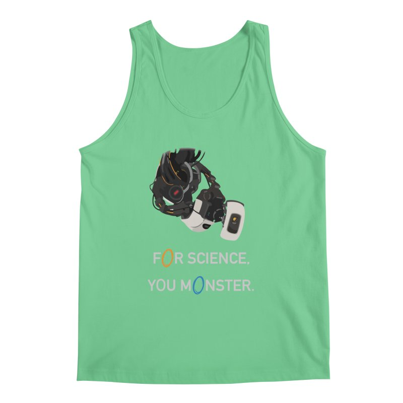 For Science Men's Regular Tank by planet64's Artist Shop