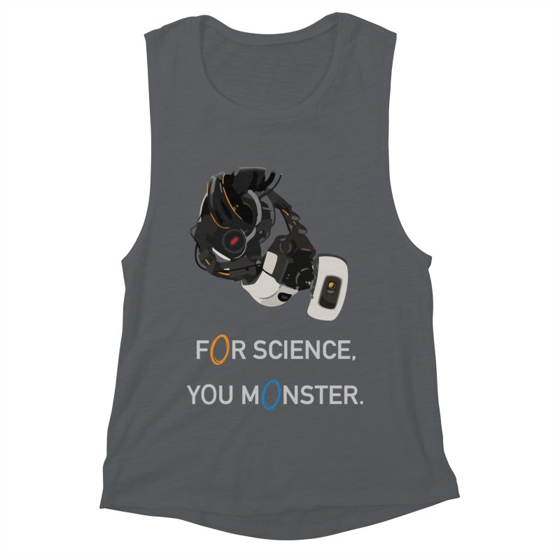 For Science Women's Muscle Tank by planet64's Artist Shop