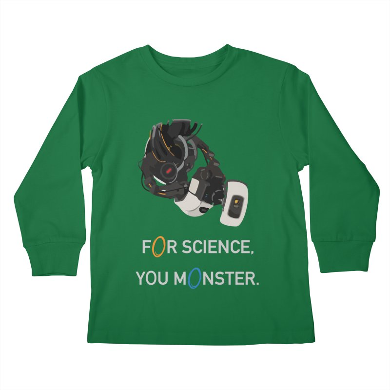 For Science Kids Longsleeve T-Shirt by planet64's Artist Shop