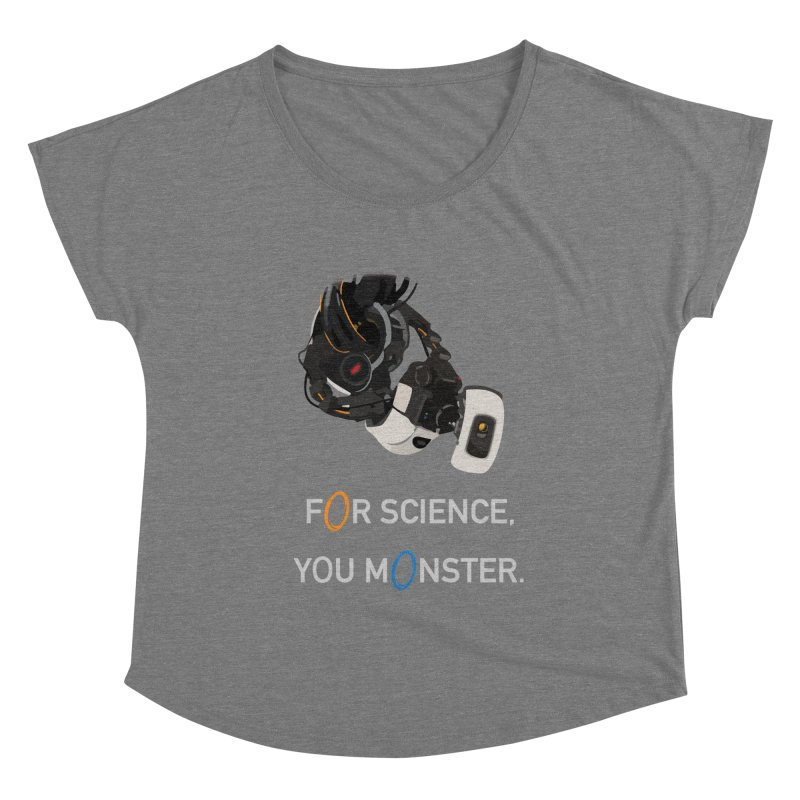 For Science Women's Scoop Neck by planet64's Artist Shop