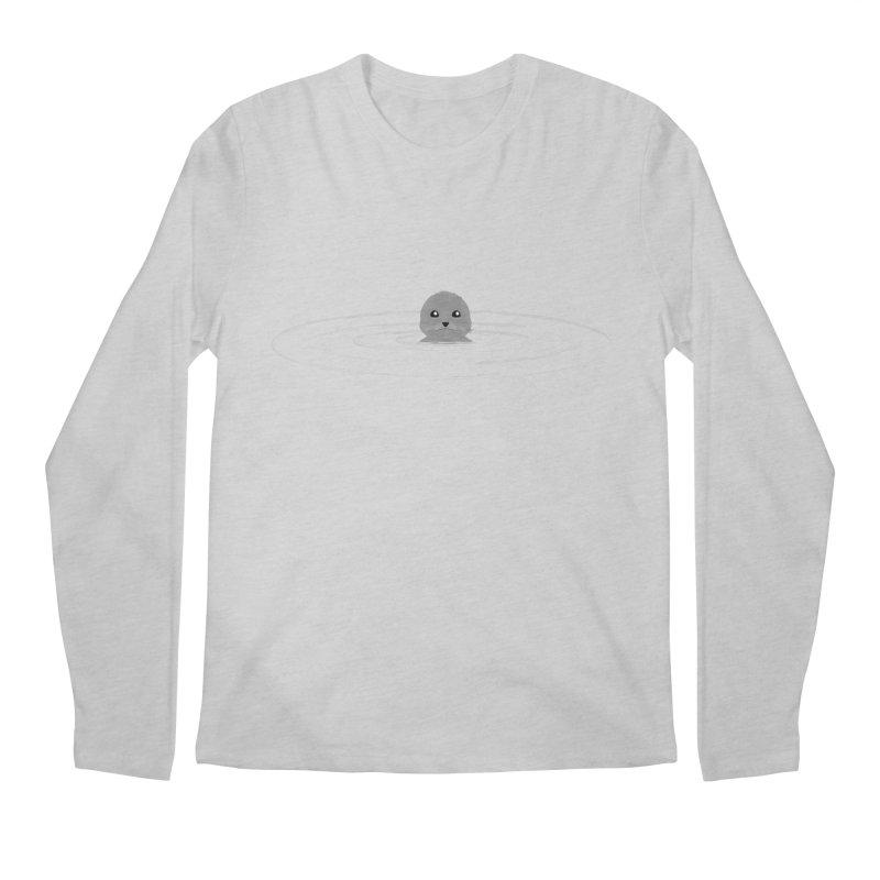 Just a Seal Men's Regular Longsleeve T-Shirt by planet64's Artist Shop