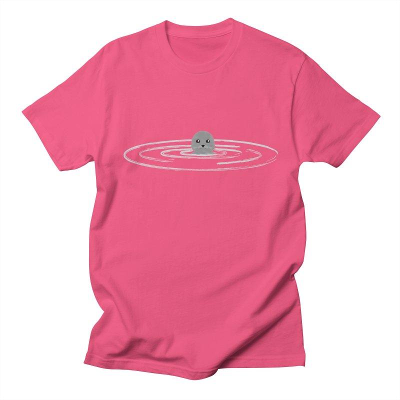 Just a Seal Men's Regular T-Shirt by planet64's Artist Shop