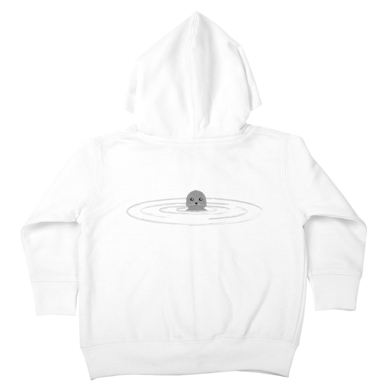 Just a Seal Kids Toddler Zip-Up Hoody by planet64's Artist Shop