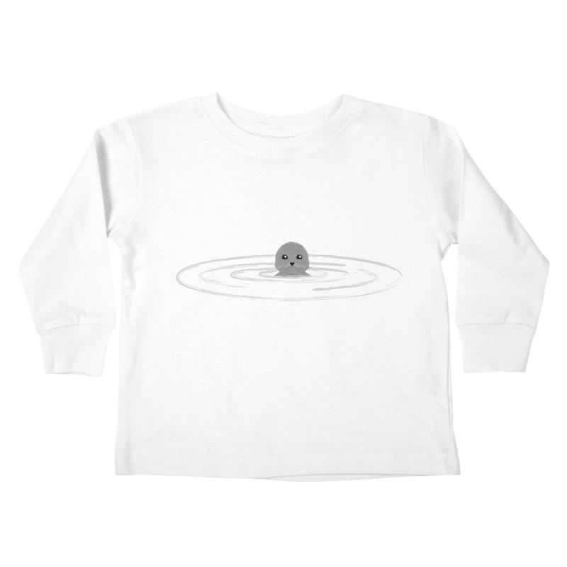 Just a Seal Kids Toddler Longsleeve T-Shirt by planet64's Artist Shop