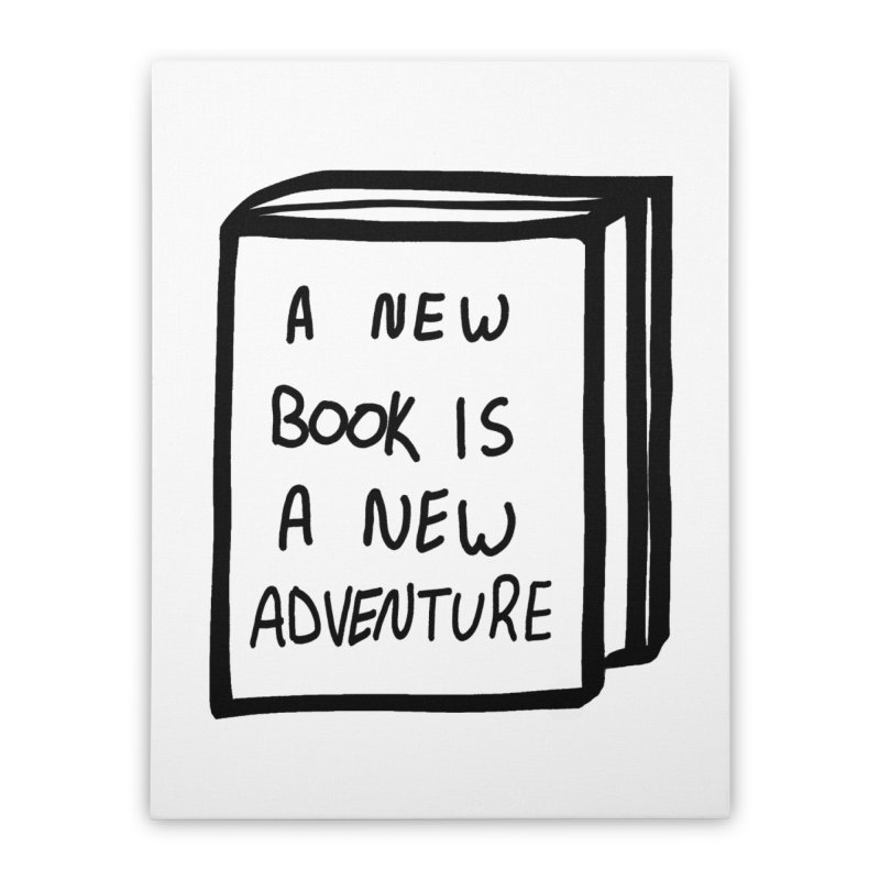 New Adventures Home Stretched Canvas by planet64's Artist Shop