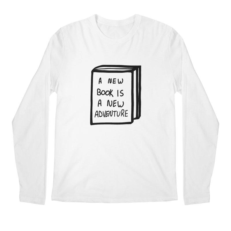New Adventures Men's Regular Longsleeve T-Shirt by planet64's Artist Shop