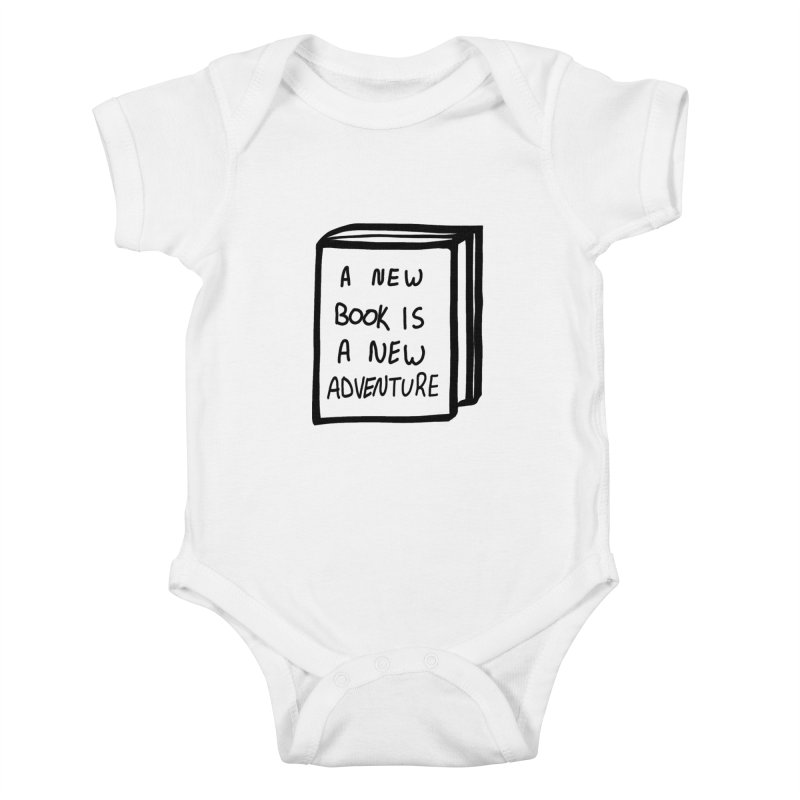 New Adventures Kids Baby Bodysuit by planet64's Artist Shop