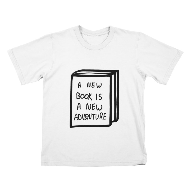 New Adventures Kids T-Shirt by planet64's Artist Shop