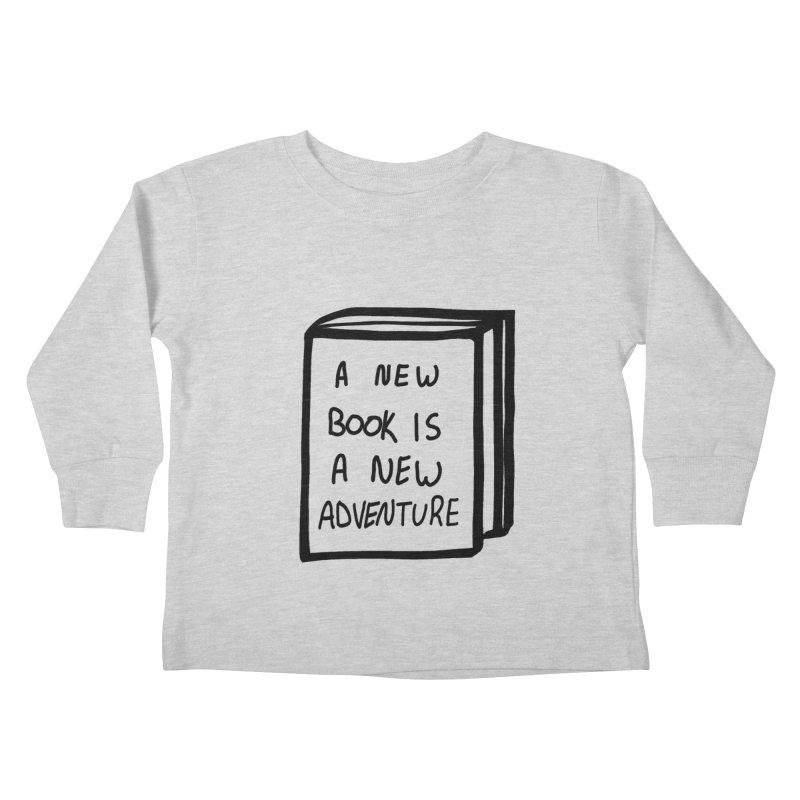 New Adventures Kids Toddler Longsleeve T-Shirt by planet64's Artist Shop