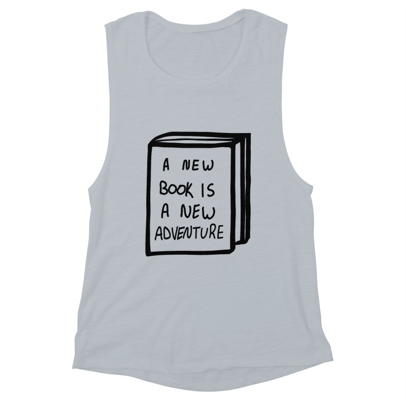 New Adventures Women's Muscle Tank by planet64's Artist Shop