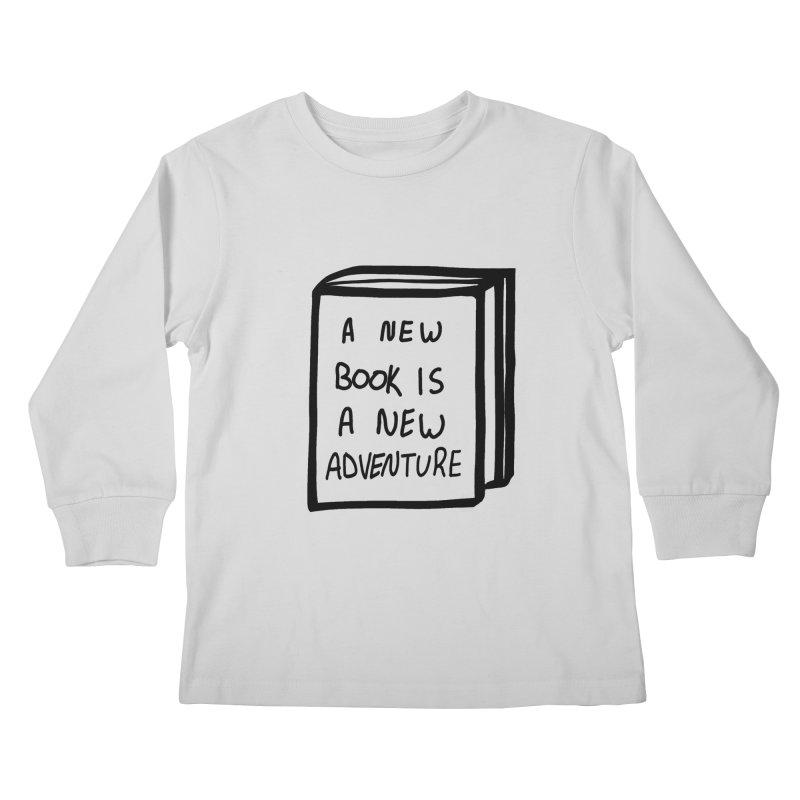 New Adventures Kids Longsleeve T-Shirt by planet64's Artist Shop