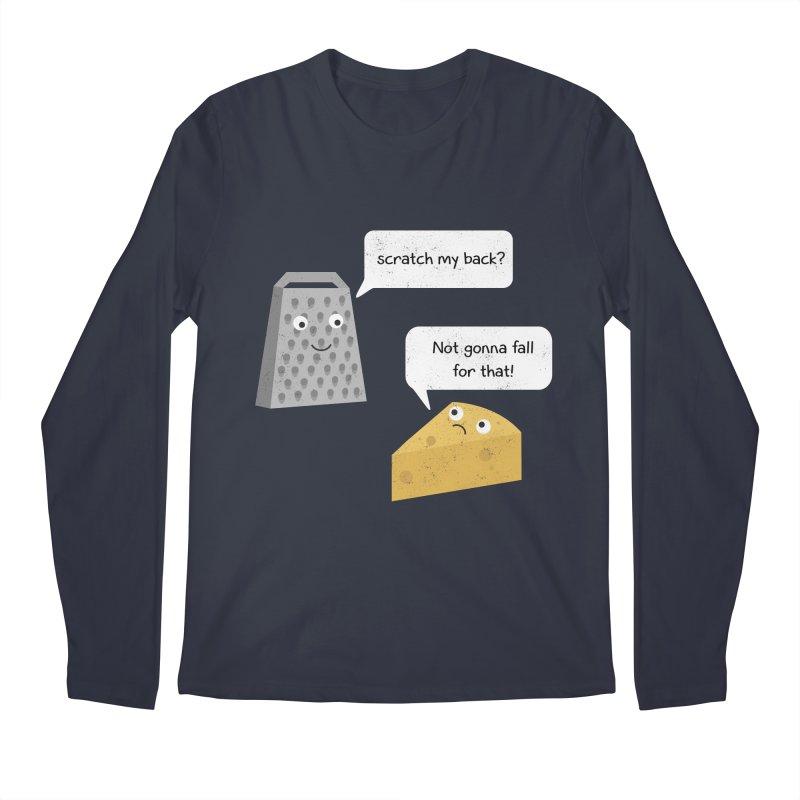 Scratch my back? Men's Regular Longsleeve T-Shirt by planet64's Artist Shop