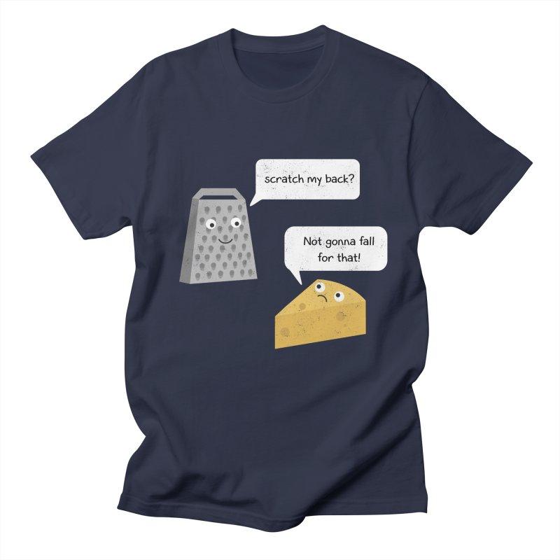 Scratch my back? Men's Regular T-Shirt by planet64's Artist Shop