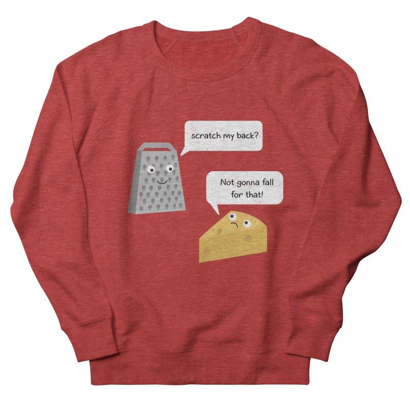 Scratch my back? Women's French Terry Sweatshirt by planet64's Artist Shop