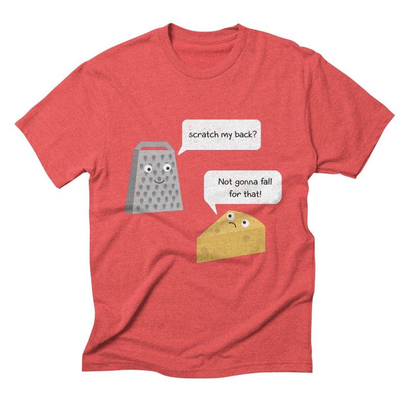 Scratch my back? Men's Triblend T-Shirt by planet64's Artist Shop