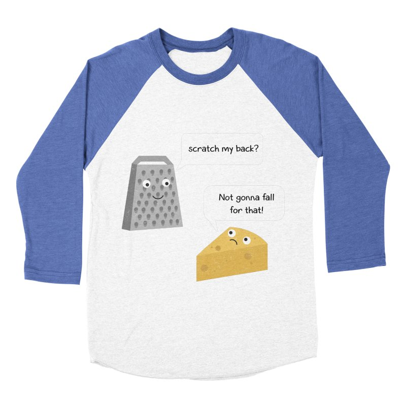Scratch my back? Women's Baseball Triblend Longsleeve T-Shirt by planet64's Artist Shop
