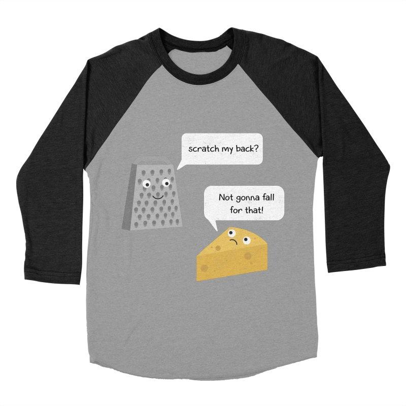 Scratch my back? Men's Baseball Triblend Longsleeve T-Shirt by planet64's Artist Shop