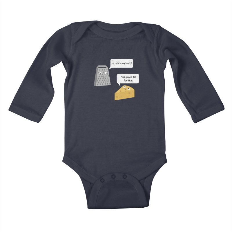 Scratch my back? Kids Baby Longsleeve Bodysuit by planet64's Artist Shop