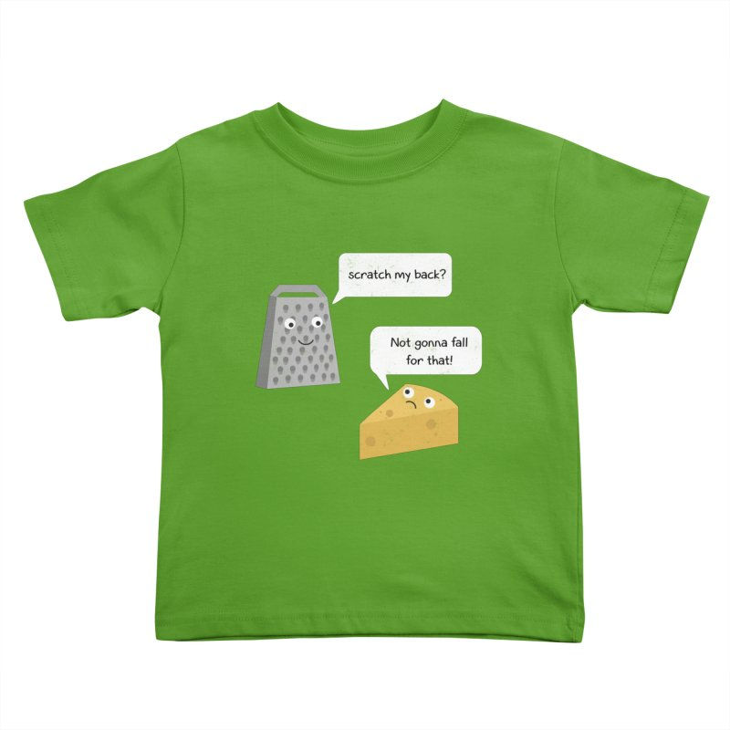 Scratch my back? Kids Toddler T-Shirt by planet64's Artist Shop