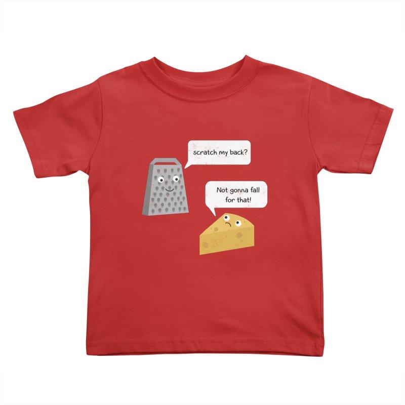 Scratch my back? Kids Toddler T-Shirt by planet64's Artist Shop