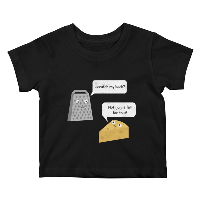 Scratch my back? Kids Baby T-Shirt by planet64's Artist Shop