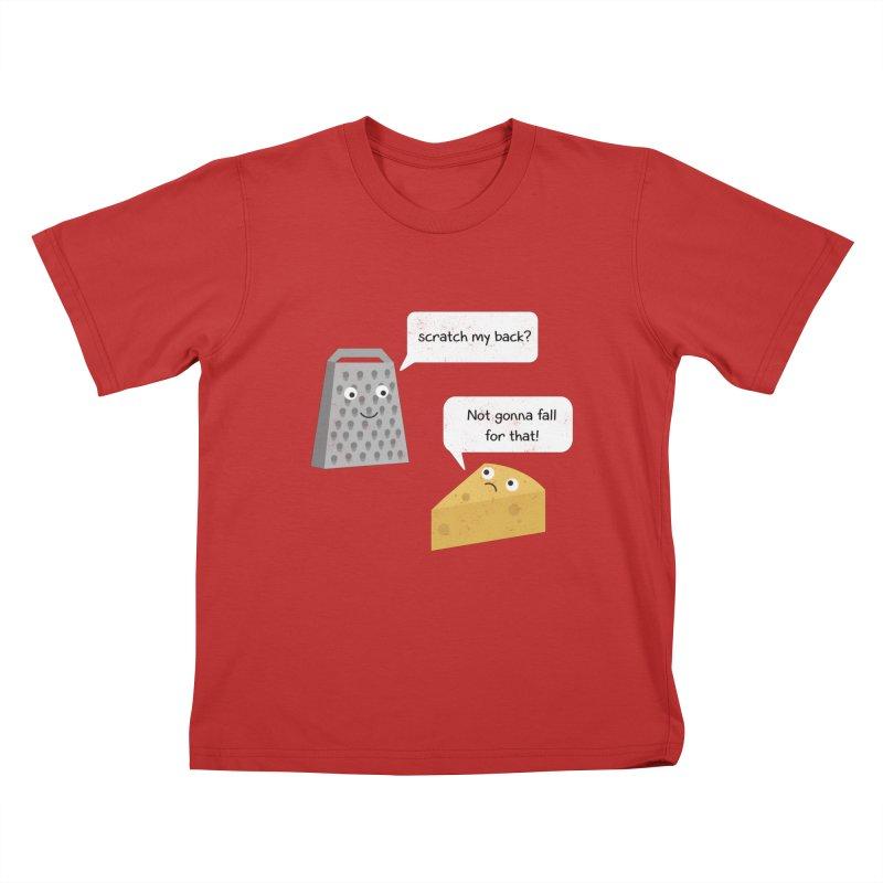 Scratch my back? Kids T-Shirt by planet64's Artist Shop