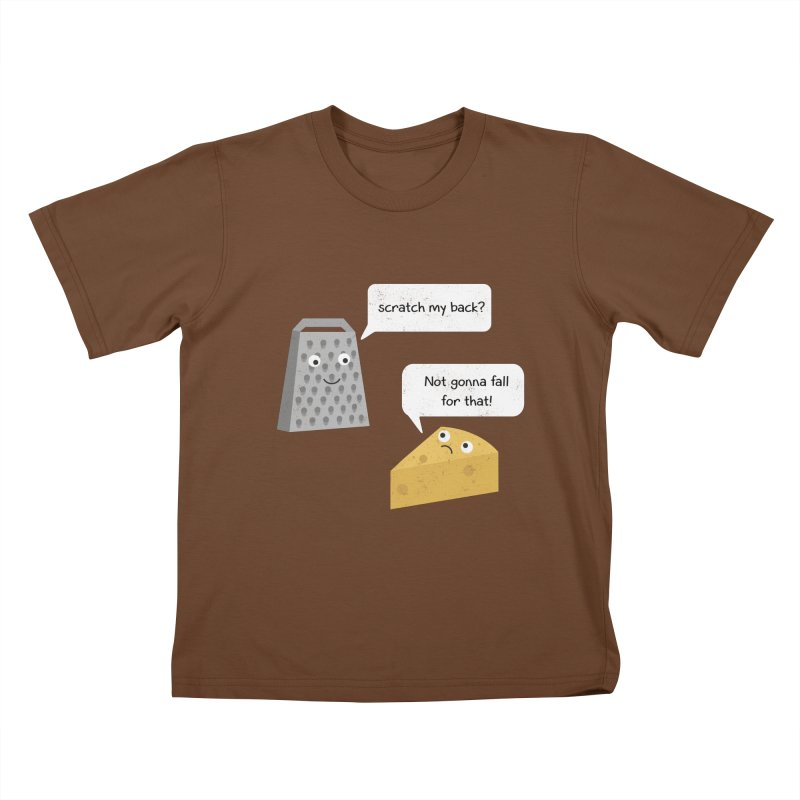 Scratch my back? Kids T-Shirt by planet64's Artist Shop