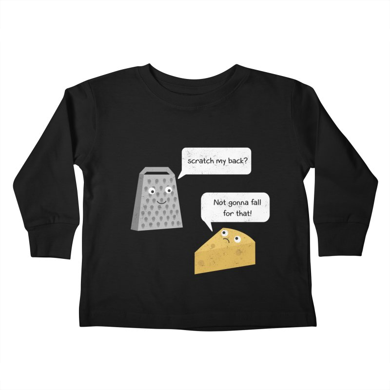 Scratch my back? Kids Toddler Longsleeve T-Shirt by planet64's Artist Shop
