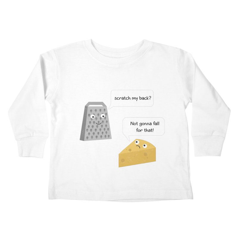 Scratch my back? Kids Toddler Longsleeve T-Shirt by planet64's Artist Shop