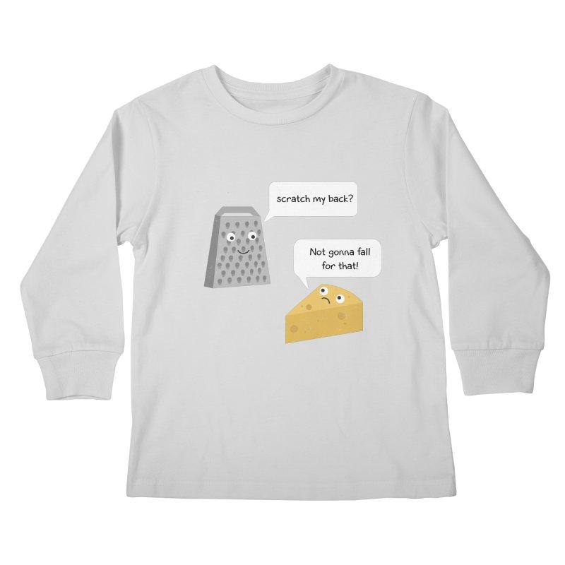 Scratch my back? Kids Longsleeve T-Shirt by planet64's Artist Shop