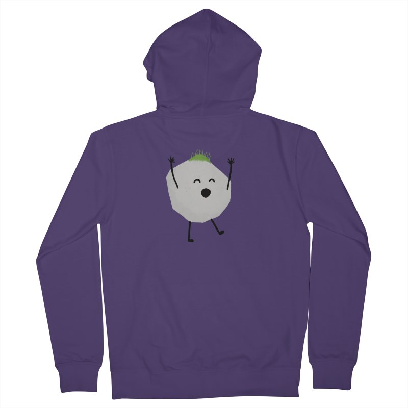 You rock! Women's French Terry Zip-Up Hoody by planet64's Artist Shop