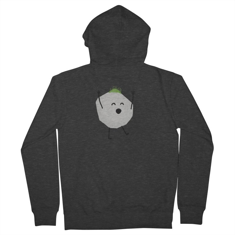 You rock! Men's French Terry Zip-Up Hoody by planet64's Artist Shop
