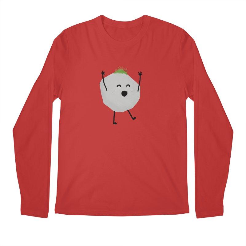 You rock! Men's Regular Longsleeve T-Shirt by planet64's Artist Shop