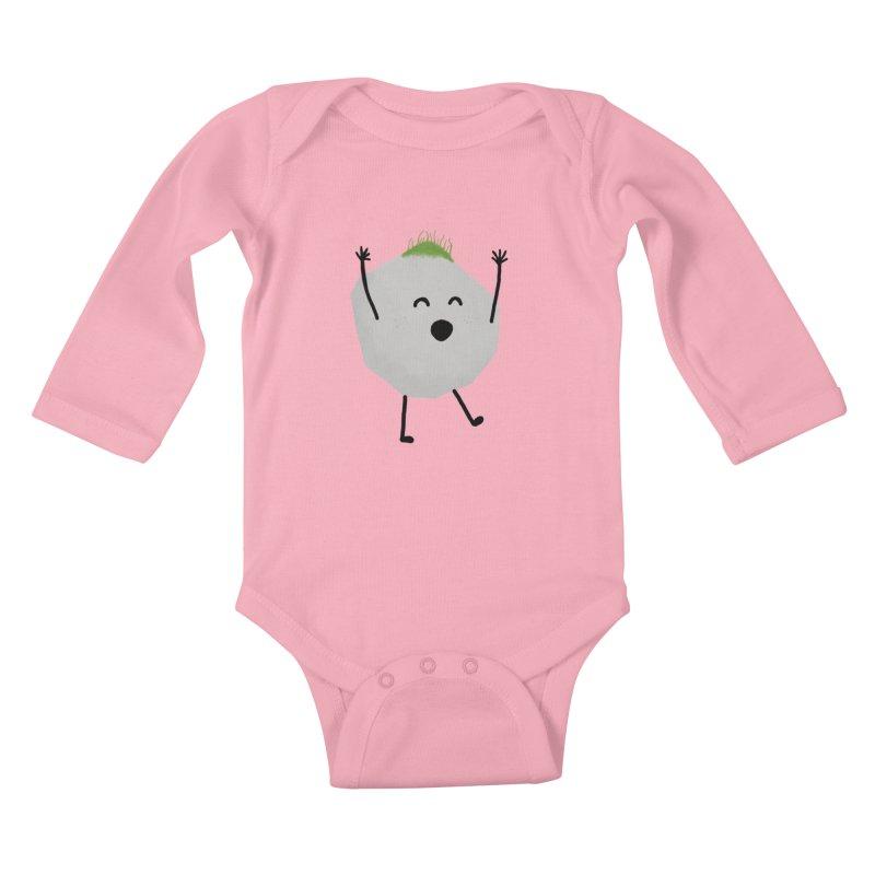 You rock! Kids Baby Longsleeve Bodysuit by planet64's Artist Shop