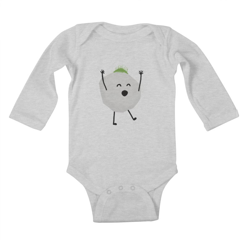 You rock! Kids Baby Longsleeve Bodysuit by planet64's Artist Shop