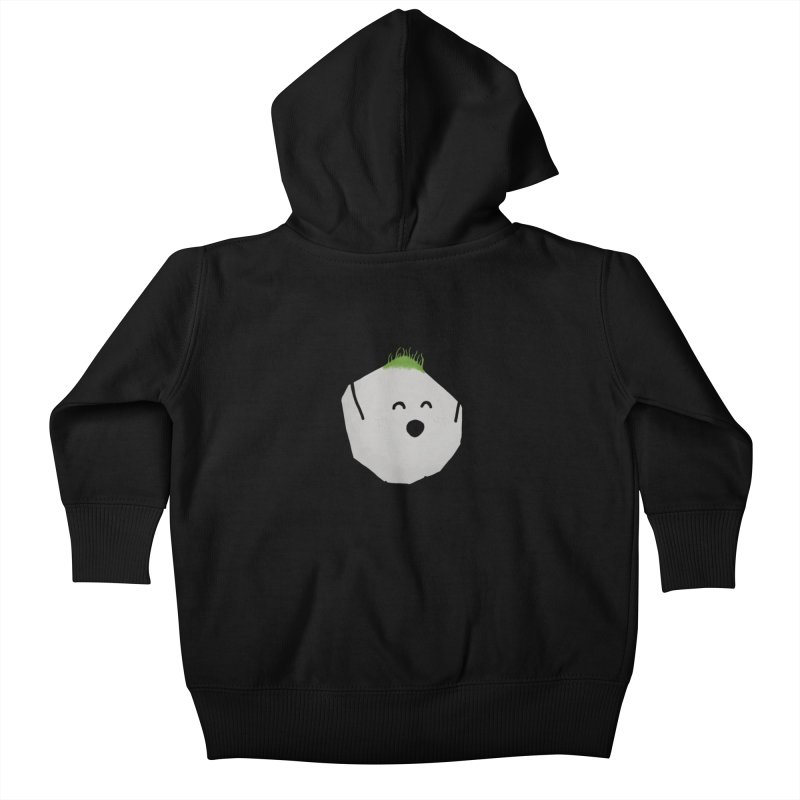 You rock! Kids Baby Zip-Up Hoody by planet64's Artist Shop