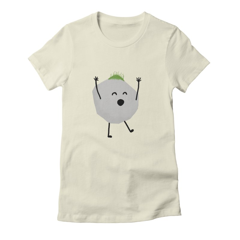 You rock! Women's Fitted T-Shirt by planet64's Artist Shop