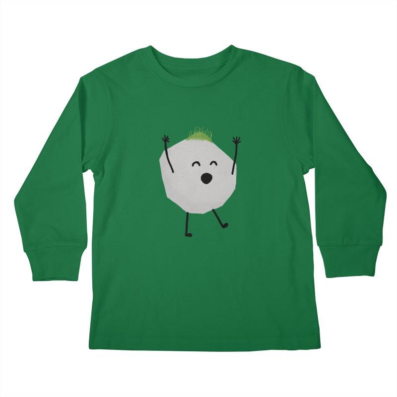 You rock! Kids Longsleeve T-Shirt by planet64's Artist Shop