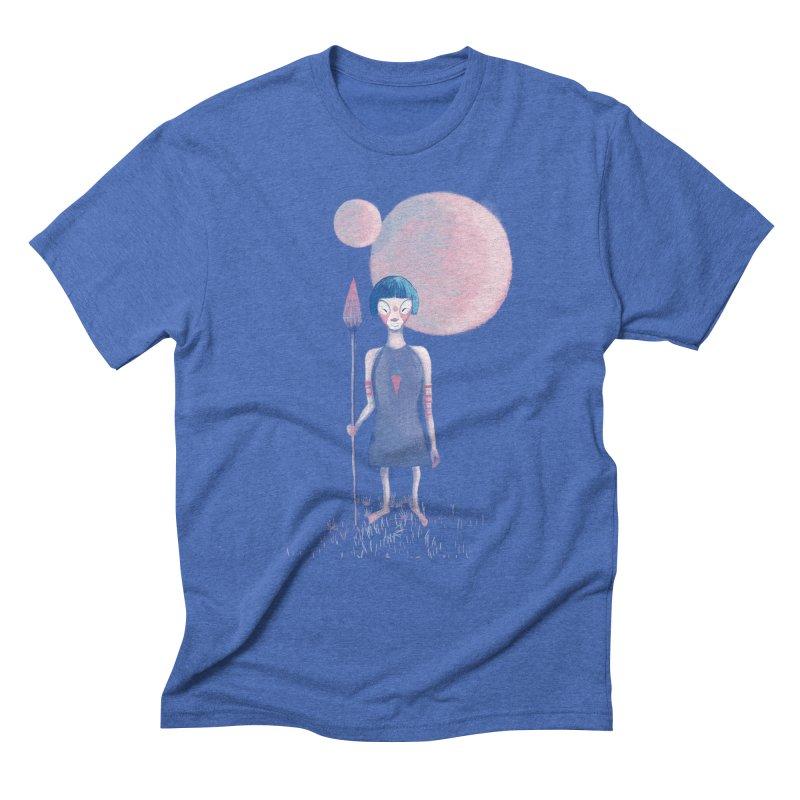 Girl from Kepler planet Men's Triblend T-shirt by jrbenavente's Shop