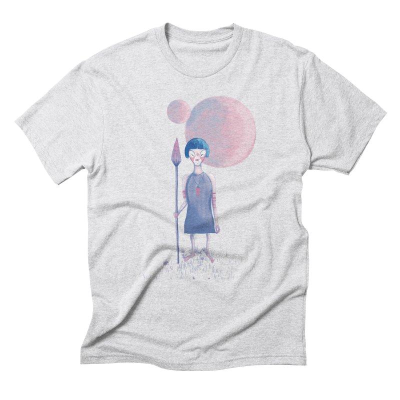 Girl Men's Triblend T-Shirt by jrbenavente's Shop