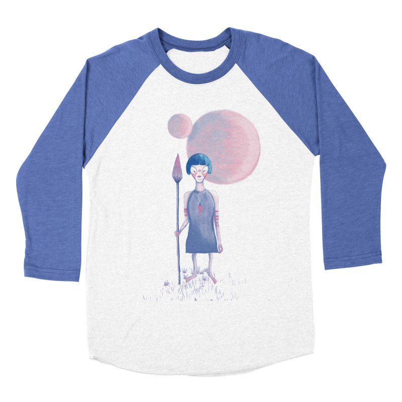Girl from Kepler planet Men's Baseball Triblend T-Shirt by jrbenavente's Shop
